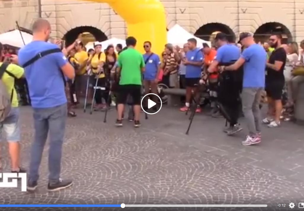 La Robotic Rewalk Race sul Tg1